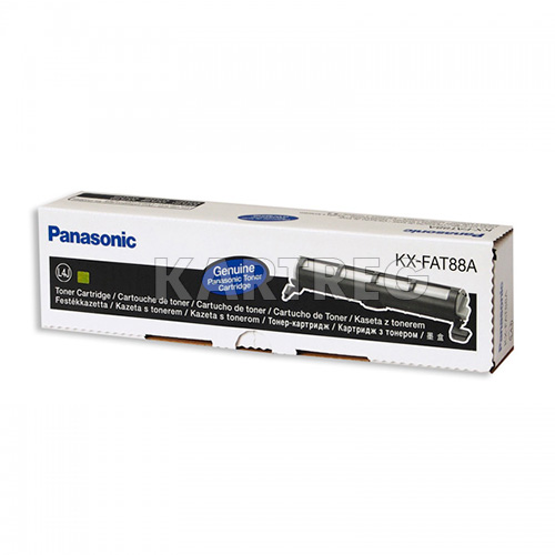 Картридж Panasonic KX-FAT88A. Ресурс 2000 страниц